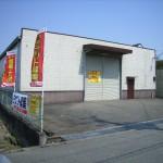 中地インター南の大型倉庫。
