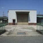 山陽網干駅近くの倉庫物件です。