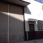 相生駅、国道2号線近くの事務所付き倉庫。