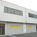 加西市中心部の倉庫付き事務所。