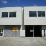 産業道路からすぐの倉庫付き事務所です。