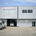 中地インター南、営業所向きの倉庫付き事務所です。