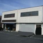 溝口駅徒歩圏内の倉庫付き事務所です。