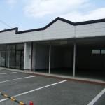 JR砥堀駅近くの貸店舗。