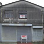 三菱電機さん近くの大型倉庫付き事務所です。