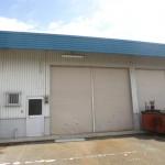 播但線 砥堀駅近く、駐車場2台込みの倉庫物件。