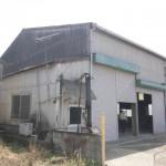 板金塗装工場跡、大型倉庫物件。