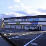 電動シャッター付、快適な設備仕様の2階建店舗・事務所物件。