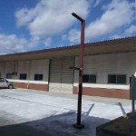 山電 山陽天満近く、広々とした大型の倉庫物件。