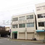 播但線 京口駅近く、エアコン付の1階店舗・事務所物件。
