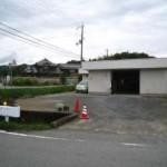 播但線 香呂駅近く、事務所付の大型倉庫物件。