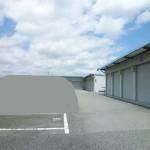 飾東町、照明・水道コンセント付の倉庫・ガレージ物件。