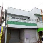 田寺、ショーウィンドウのある店舗付住宅物件。