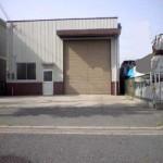 山電網干線 西飾磨駅近く、事務所付の倉庫物件。