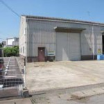 山電 網干駅近く、大型の倉庫物件。