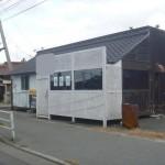 山電 西飾磨駅近く、カウンター付の居抜き店舗物件。