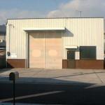 播但線 溝口駅より徒歩8分、2階建て倉庫付事務所物件。