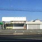 播但線 京口駅徒歩圏内、使いやすい間取りのスケルトン店舗物件。