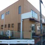 姫路バイパス南インター南、2階建ての事務所物件。