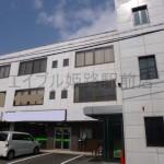 姫路市役所近くの大型事務所物件。事務所仕様の内装が残っています。