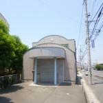 JRひめじ別所駅より徒歩7分、2号線沿いにある居抜き店舗物件。