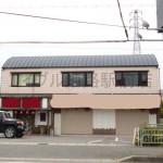 播但道花田IC近く、駐車場付の事務所物件。