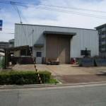 山陽電鉄山陽天満駅前の大型事務所付倉庫物件。
